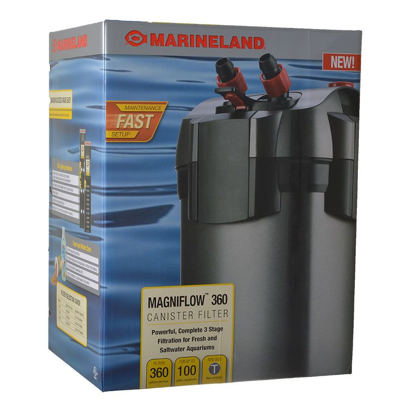 Marineland Magniflow Canister Filter Magniflow 360 Canister Filter (360 GPH - 100 Gallons) - All Pets Store