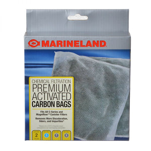 Marineland Premium Activated Carbon Bags Fits all C-Series Canister Filters (2 Pack) - All Pets Store