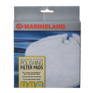Marineland Polishing Filter Pads for C-Series Canister Filters Fits C160 & C220 (2 Pack) - All Pets Store