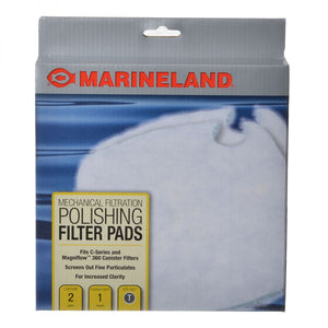 Marineland Polishing Filter Pads for C-Series Canister Filters Fits C360 (2 Pack) - All Pets Store