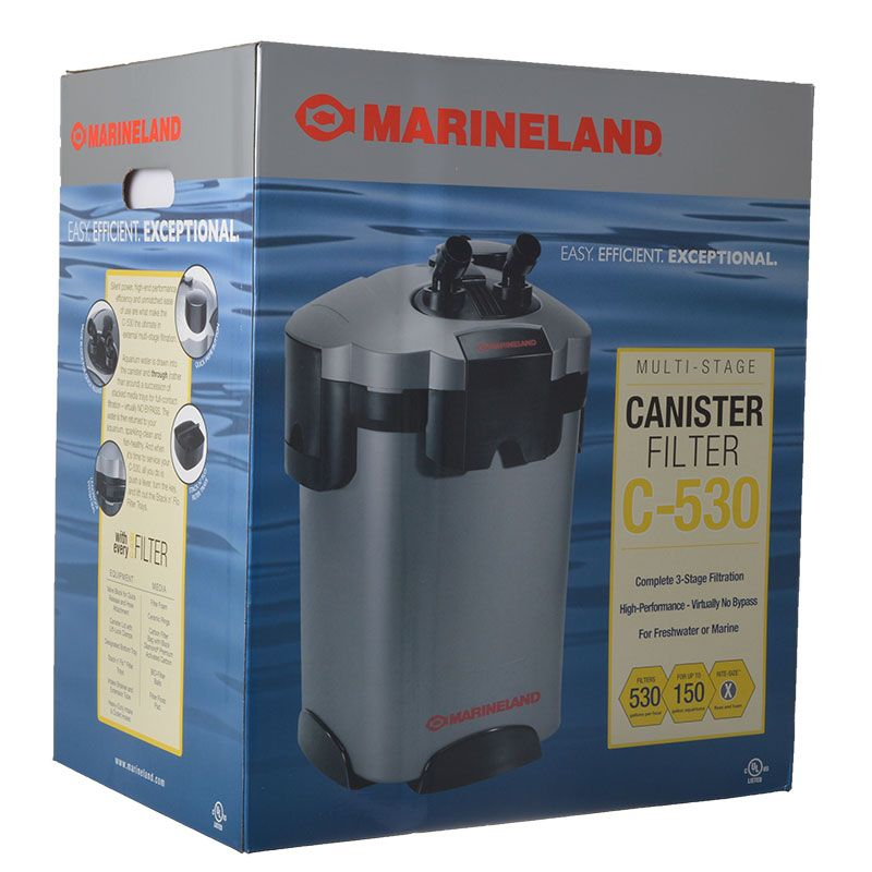 Marineland C-530 Canister Filter C-530 Canister Filter - All Pets Store