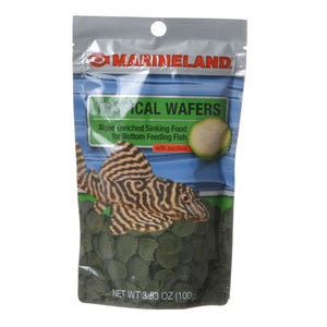 Marineland Algae Wafers with Zucchini 3.5 oz - All Pets Store