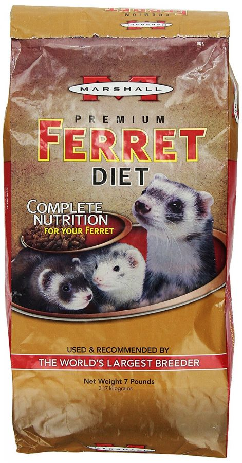 Marshall Premium Ferret Diet Bag 7 lbs - All Pets Store