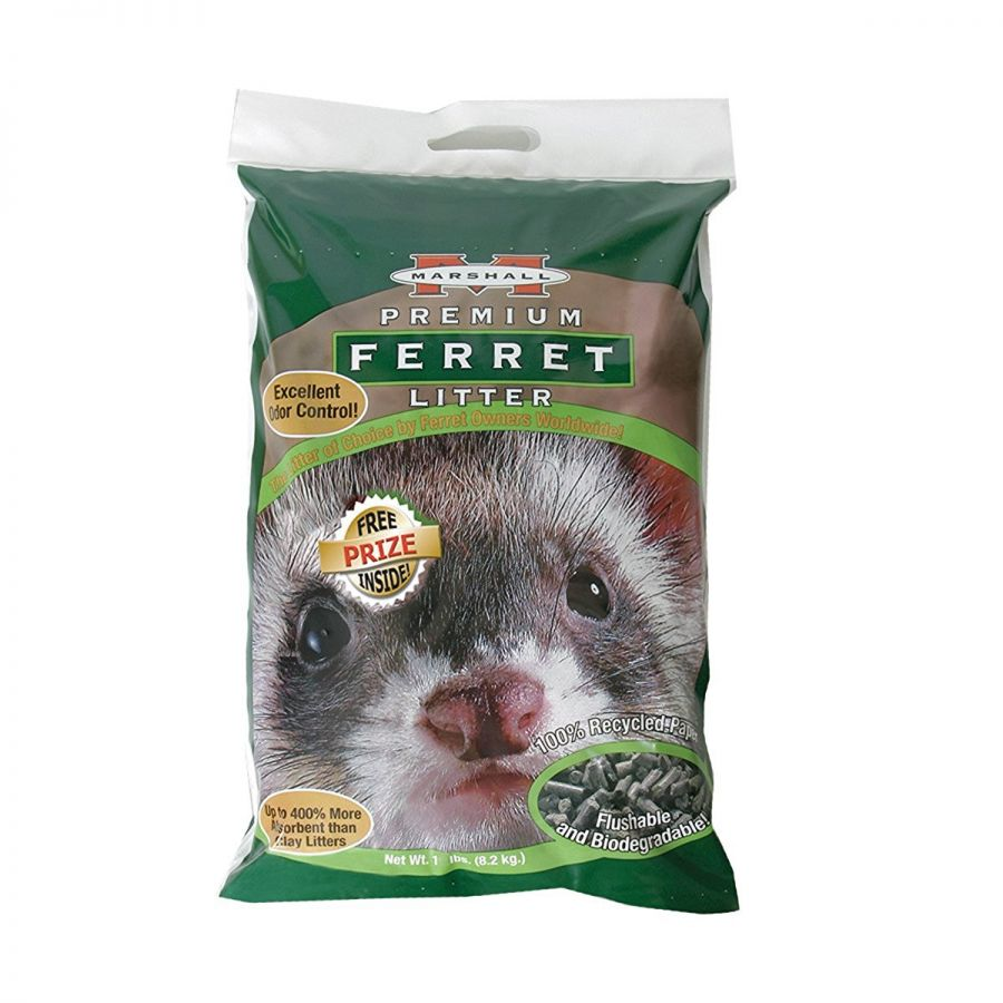 Marshall Premium Ferret Litter Bag 10 lbs - All Pets Store