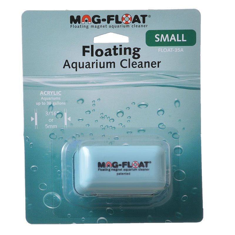 Mag Float Floating Magnetic Aquarium Cleaner - Acrylic Small (30 Gallons) - All Pets Store