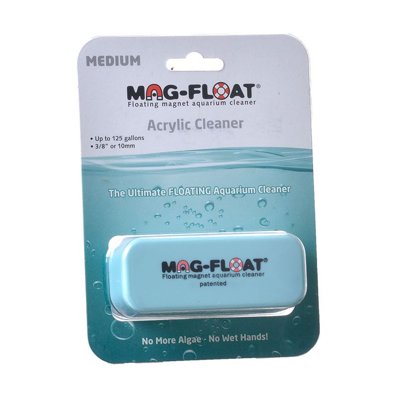 Mag Float Floating Magnetic Aquarium Cleaner - Acrylic Medium (130 Gallons) - All Pets Store