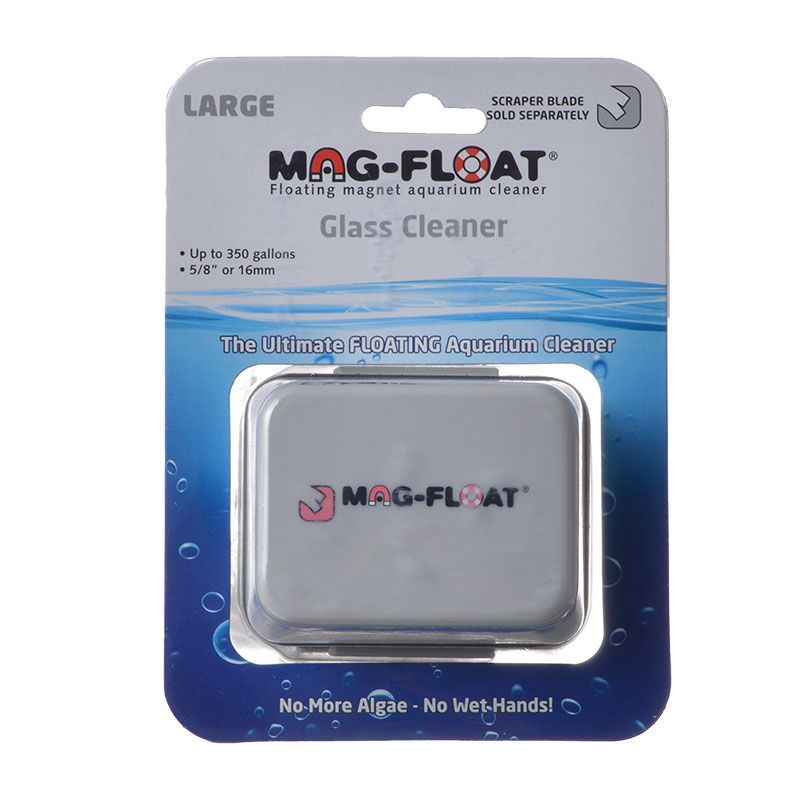 Mag Float Floating Magnetic Aquarium Cleaner - Glass Large (350 Gallons) - All Pets Store