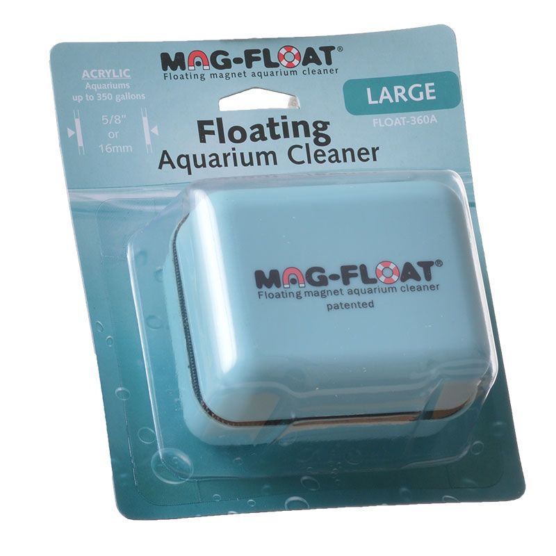 Mag Float Floating Magnetic Aquarium Cleaner - Acrylic Large (360 Gallons) - All Pets Store