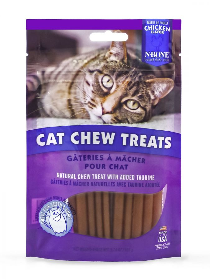 N-Bone Cat Chew Treats Chicken Flavor 3.74 oz - All Pets Store