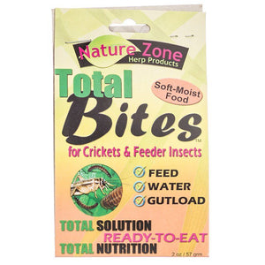 Nature Zone Total Bites for Feeder Insects 2 oz - All Pets Store