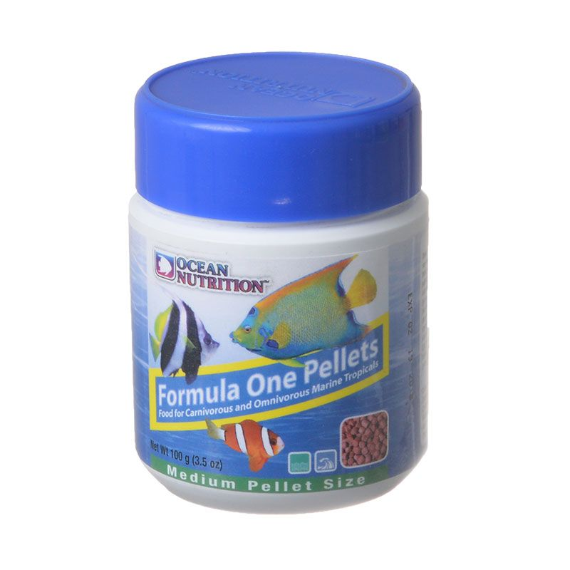 Ocean Nutrition Formula ONE Marine Pellet - Medium Medium Pellets - 100 Grams - All Pets Store