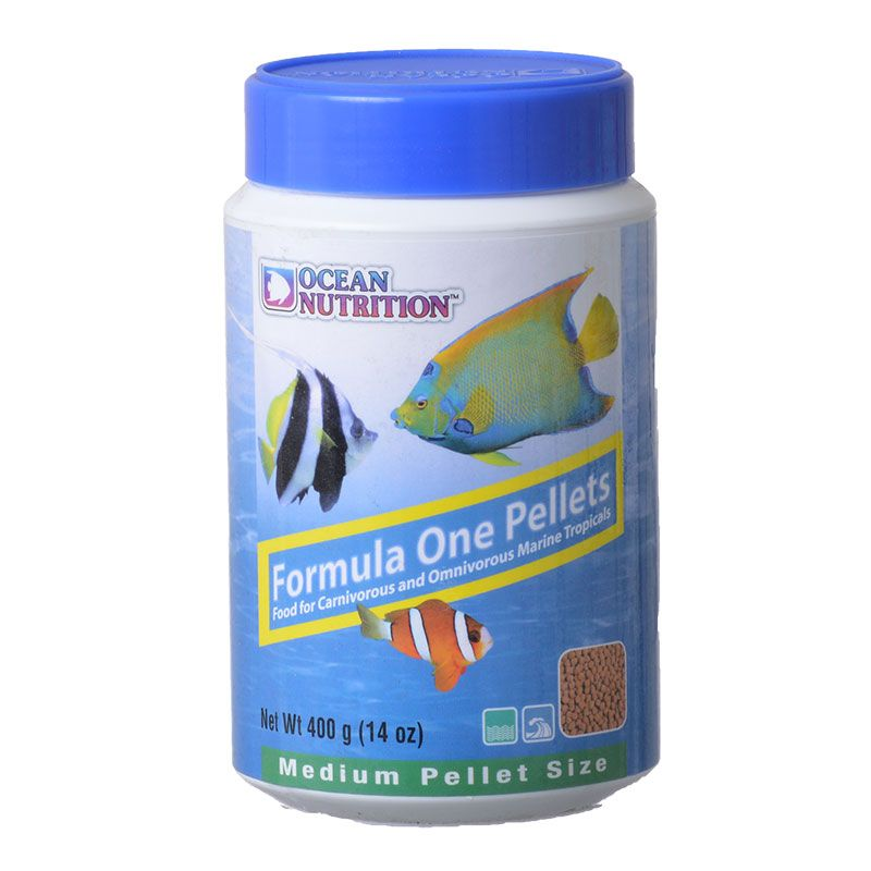 Ocean Nutrition Formula ONE Marine Pellet - Medium Medium Pellets - 400 Grams - All Pets Store