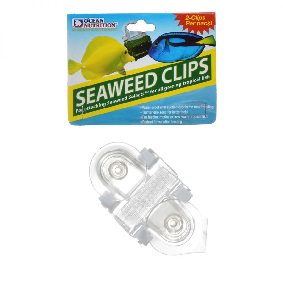 Ocean Nutrition Feeding Frenzy Seaweed Clips 2 Pack - All Pets Store