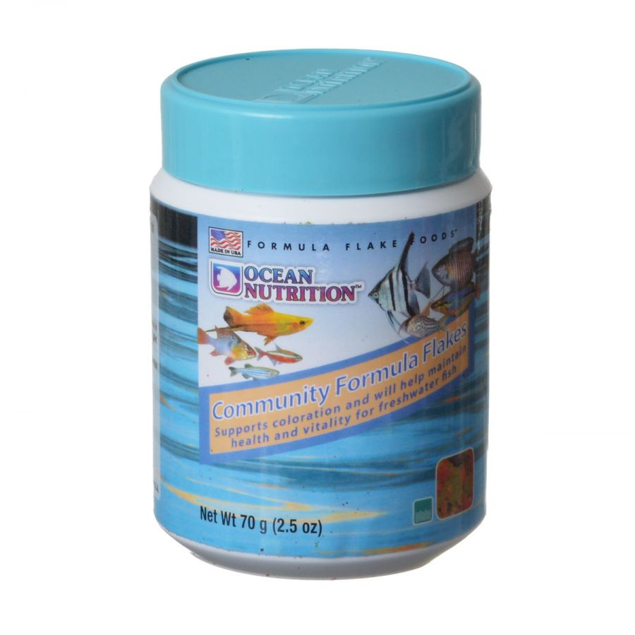 Ocean Nutrition Community Formula Flakes 2.2 oz - All Pets Store