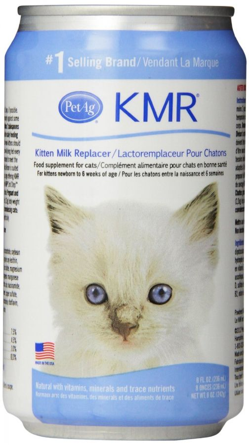 PetAg KMR Liquid Kitten Milk Replacer 8 oz - All Pets Store