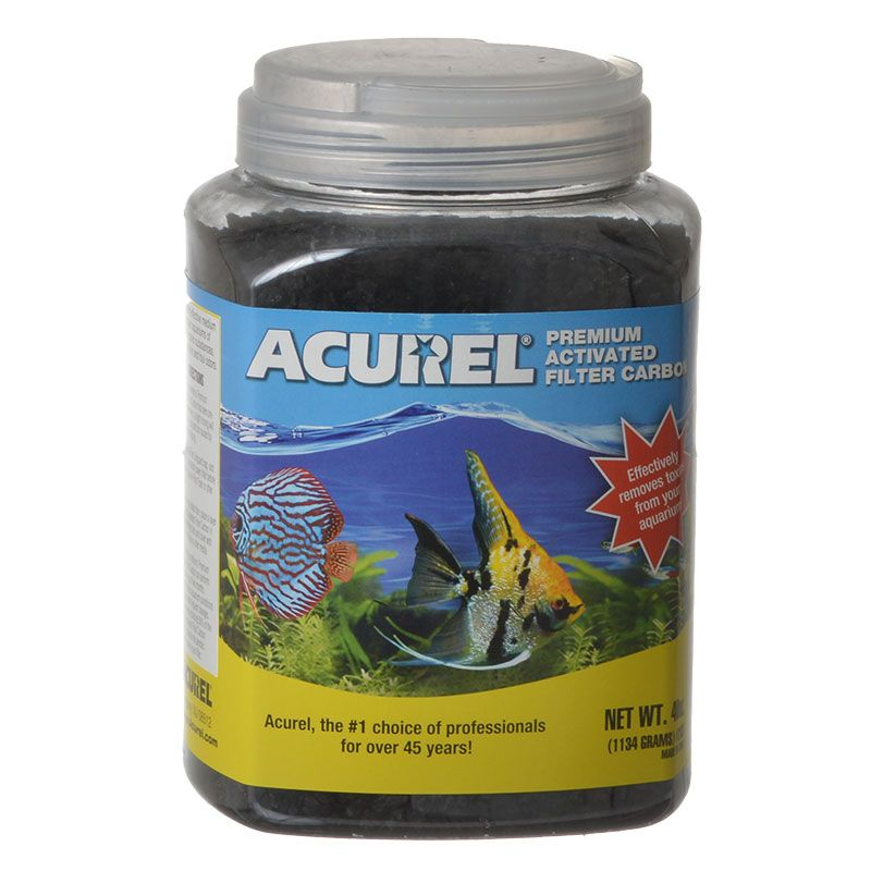 Acurel Premium Activated Filter Carbon 40 oz - All Pets Store