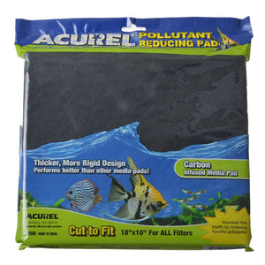 "Acurel Pollutant Reducing Pad - Carbon Infused 18"" Long x 10"" Wide - All Pets Store"