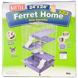 "Kaytee Ferret Home Plus 42""L x 24""W x 16.5""H - All Pets Store"