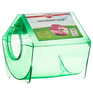 "Kaytee Chinchilla Bath House 9""L x 9""W x 9""H - All Pets Store"
