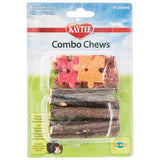 Kaytee Combo Chews Apple Wood & Crispy Puzzle 16 Pieces - All Pets Store