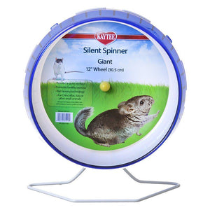 "Kaytee Silent Spinner Wheel Giant (12"" Diameter) - All Pets Store"