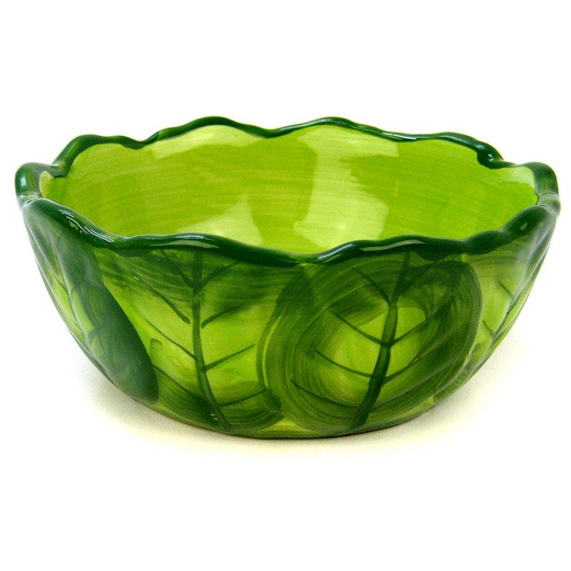 "Kaytee Veg-T-Bowl - Cabbage 6"" Diameter - All Pets Store"