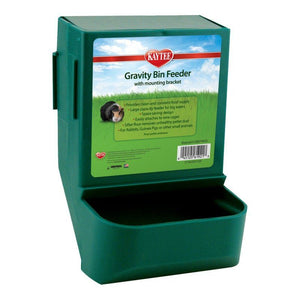 "Kaytee Gravity Bin Feeder 5.75""L x 5""W x 8""H - All Pets Store"