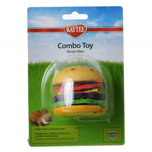 Kaytee Combo Toy - Burger Bites 1 Pack - All Pets Store