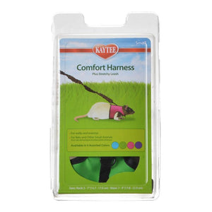 "Kaytee Comfort Harness with Safety Leash Small (5""-7"" Neck & 7""-9"" Waist) - All Pets Store"