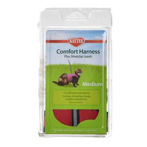 "Kaytee Comfort Harness with Safety Leash Medium (7""-9"" Neck & 9""-11"" Waist) - All Pets Store"