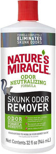 Nature's Miracle Skunk Odor Remover 32 fl oz - All Pets Store