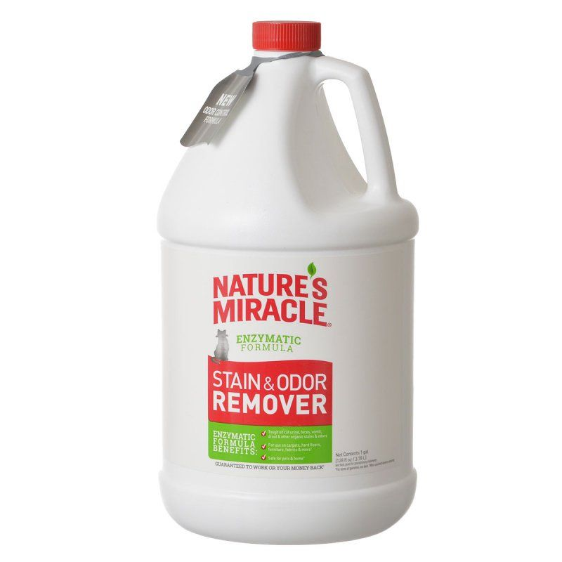 Nature's Miracle Just for Cats Stain & Odor Remover 1 Gallon - Refill - All Pets Store