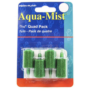 "Penn Plax Aqua-Mist Cylinder Airstone 7/16"" Long Airstone (4 Pack) - All Pets Store"