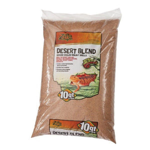 Zilla Desert Blend Ground English Walnut Shells Reptile Bedding 10 Quarts - All Pets Store