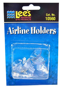 Lees Airline Holders - Clear 6 Pack - All Pets Store