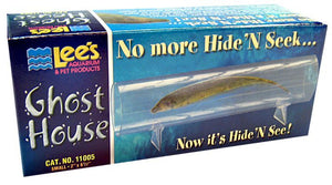 "Lees Ghost House Small - 6"" Long - All Pets Store"