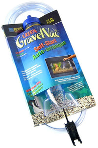 "Lees Ultra Gravel Vac 10"" Long with Nozzle - All Pets Store"