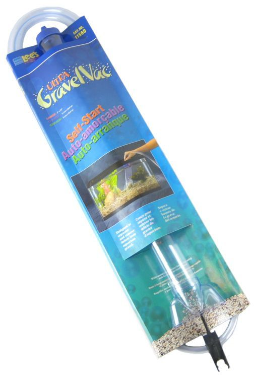 "Lees Ultra Gravel Vac 24"" Long with Nozzle - All Pets Store"
