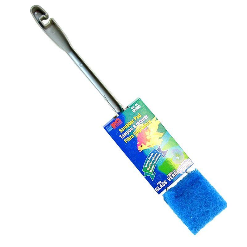 "Lees Glass Scrubber with Long Handle Glass Scrubber with 9"" Long Handle - All Pets Store"