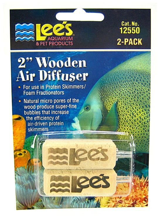 "Lees Wood Airstone Air Diffuser 2"" Long (2 Pack) - All Pets Store"