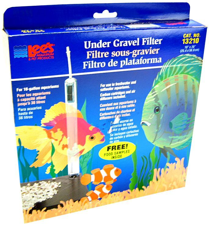 "Lees Original Undergravel Filter 20"" Long x 10"" Wide (10 Gallons) - All Pets Store"