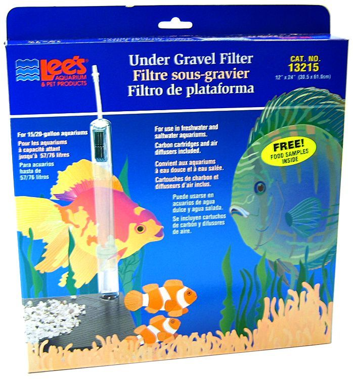 "Lees Original Undergravel Filter 24"" Long x 12"" Wide (15-20 Gallons) - All Pets Store"