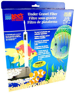 "Lees Original Undergravel Filter 30"" Long x 12"" Wide or 36"" Long x 10"" Wide (29 Gallons) - All Pets Store"