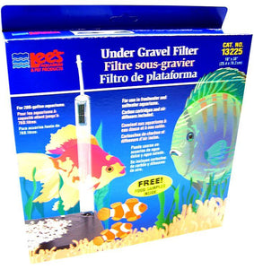 "Lees Original Undergravel Filter 30"" Long x 10"" Wide (20 Gallons) - All Pets Store"