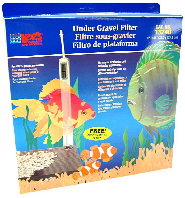 "Lees Original Undergravel Filter 48"" Long x 12"" Wide (40-55 Gallons) - All Pets Store"