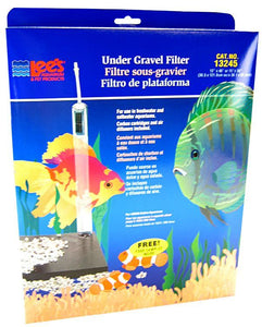 "Lees Original Undergravel Filter 48"" Long x 12"" Wide or 36"" Long x 15"" Wide (55 Gallons) - All Pets Store"