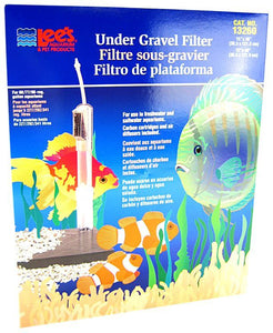 "Lees Original Undergravel Filter 48"" Long x 15"" Wide or 60"" Long x 12"" Wide (60-90 Gallons) - All Pets Store"