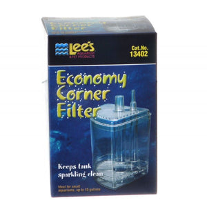 Lees Economy Corner Filter Up to 10 Gallons - All Pets Store
