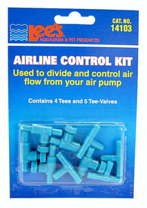 Lees Airline Control Kit with Valves Airline Control Kit - All Pets Store
