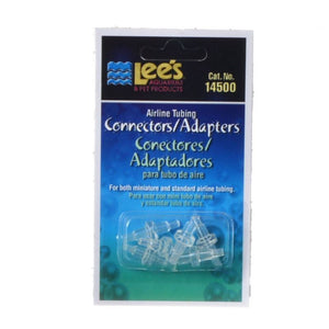 Lees Airline Tubing Connector/Adaptor 6 Pack - All Pets Store